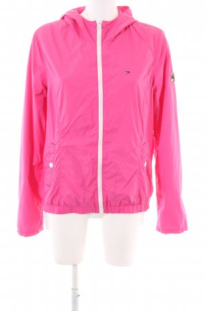Tommy Hilfiger Impermeabile rosa stile casual