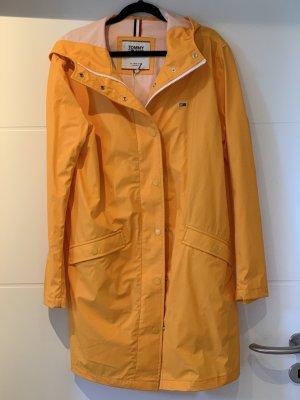 Tommy Hilfiger Płaszcz przeciwdeszczowy złotopomarańczowy