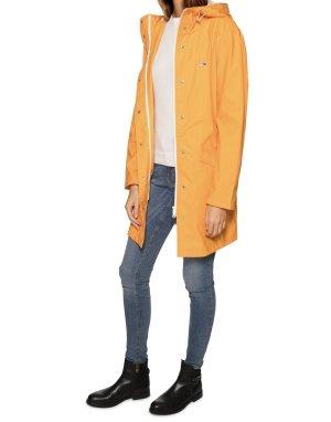 Tommy Hilfiger Manteau de pluie orange doré