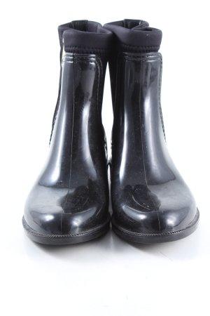 Tommy Hilfiger Reißverschluss-Stiefeletten schwarz Casual-Look