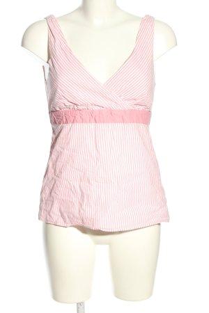 Tommy Hilfiger Ringelshirt pink-weiß Streifenmuster Casual-Look