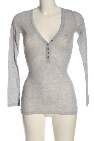 Tommy Hilfiger Chemise côtelée gris clair style décontracté