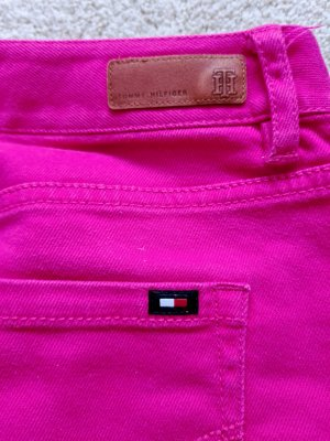 Tommy Hilfiger Rock Jeansrock Denim in pink Gr. 4