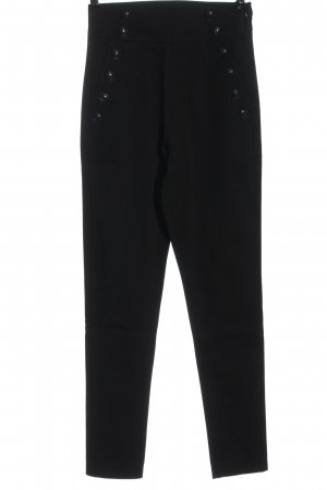 Tommy Hilfiger Spodnie rurki czarny W stylu biznesowym