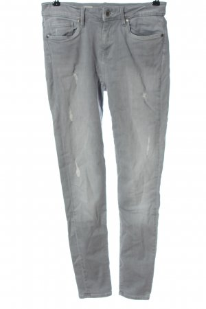 Tommy Hilfiger Tube Jeans light grey casual look