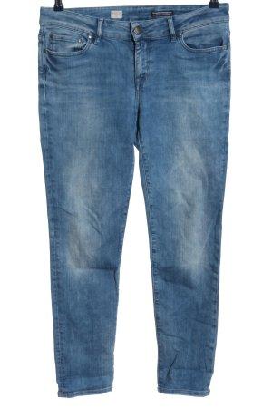 Tommy Hilfiger Röhrenjeans blau Casual-Look