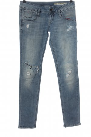 Tommy Hilfiger Jeans cigarette bleu style décontracté