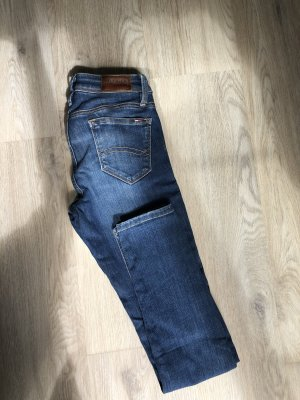 Tommy Hilfiger Denim Jeans a sigaretta blu