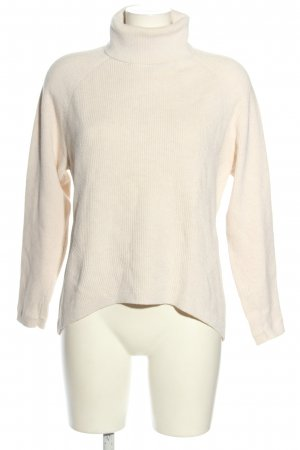 Tommy Hilfiger Turtleneck Sweater nude cable stitch casual look