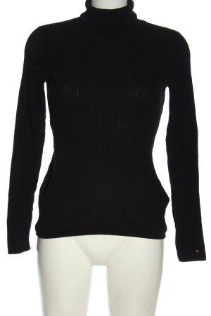 Tommy Hilfiger Turtleneck Sweater black casual look