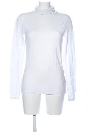 Tommy Hilfiger Camisa de cuello de tortuga blanco estilo «business»