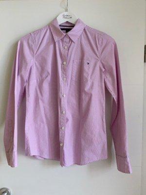 Tommy Hilfiger rosa weiss gestreifte Bluse
