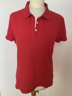 Tommy Hilfiger rotes Poloshirt
