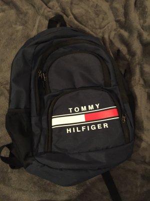 Tommy Hilfiger Schoolrugzak donkerblauw