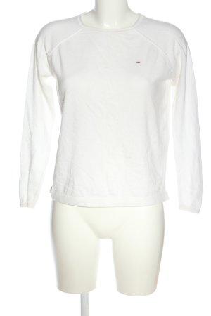 Tommy Hilfiger Jersey de cuello redondo blanco look casual