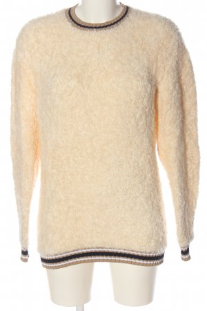 Tommy Hilfiger Rundhalspullover creme Casual-Look