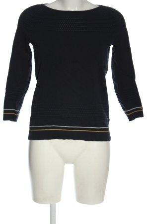 Tommy Hilfiger Sweter z okrągłym dekoltem czarny W stylu casual