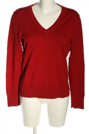Tommy Hilfiger Rundhalspullover rot Casual-Look