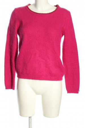 Tommy Hilfiger Rundhalspullover pink Casual-Look