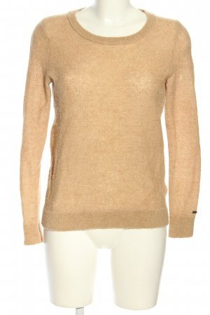 Tommy Hilfiger Rundhalspullover nude Casual-Look