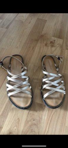 Tommy Hilfiger Romeinse sandalen brons-beige