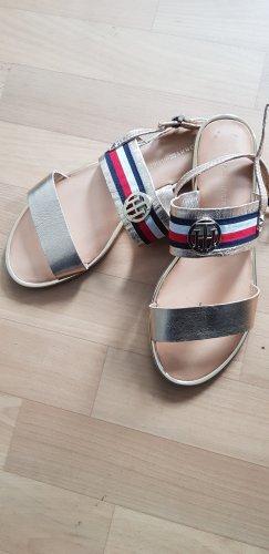 Tommy Hilfiger Comfort Sandals gold-colored