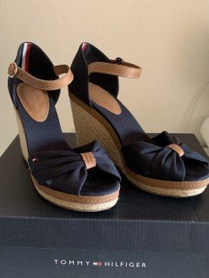 Tommy Hilfiger Platform Sandals dark blue