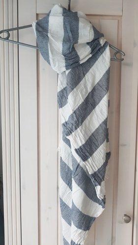 Tommy Hilfiger Écharpe d'été blanc-gris ardoise
