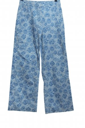Tommy Hilfiger Flares blue-white allover print casual look