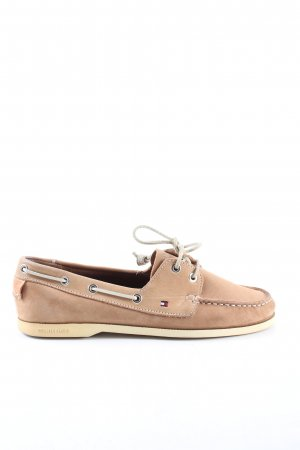 Tommy Hilfiger Segelschuhe nude Casual-Look