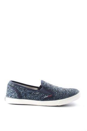 Tommy Hilfiger Schlüpfsneaker blau Casual-Look