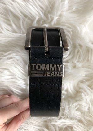 Tommy Hilfiger Schnallen Gürtel schwarz braun 90cm