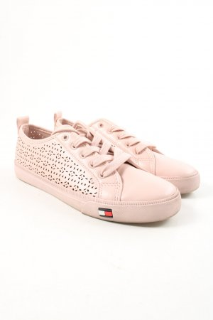 Tommy Hilfiger Schnürsneaker pink Casual-Look