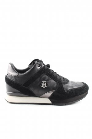 Tommy Hilfiger Schnürsneaker abstraktes Muster Casual-Look