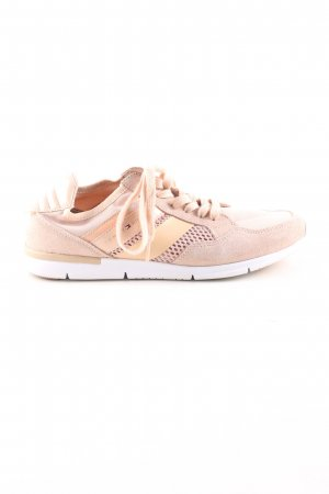 Tommy Hilfiger Schnürsneaker nude Casual-Look