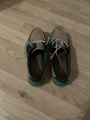 Tommy Hilfiger Sailing Shoes forest green-dark blue