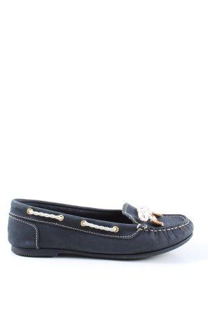 Tommy Hilfiger Zapatos de marinero azul look casual