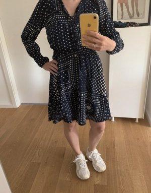 Tommy Hilfiger Mini-jurk donkerblauw-wit