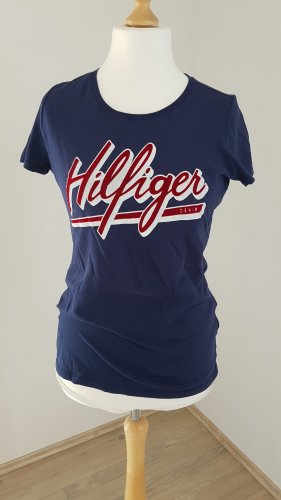 Tommy Hilfiger T-shirt paars-donkerblauw