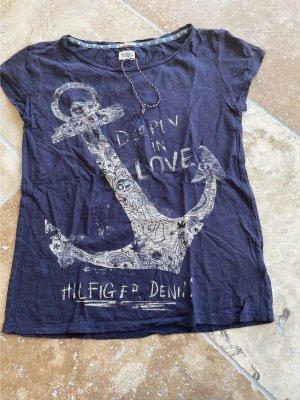 Tommy Hilfiger Shirt dunkelblau Gr.S