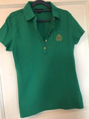 Tommy Hilfiger Shirt grün / Gold Gr. L