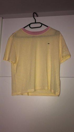 Tommy Hilfiger Shirt in gelb und weiß  (neu)