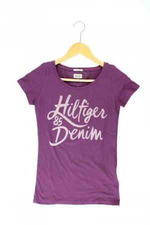 Tommy Hilfiger T-shirt lila-mauve-paars-donkerpaars