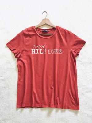 Tommy Hilfiger Shirt rot Gr. M