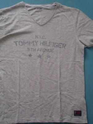 Tommy Hilfiger-shirt, XL, grau: N.Y.C. - 5th Avenue, #unisex