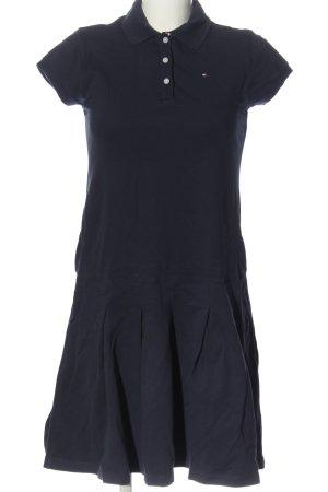 Tommy Hilfiger Shirtkleid blau Casual-Look
