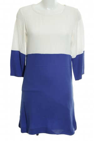 Tommy Hilfiger T-shirt jurk wit-blauw