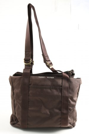 Tommy Hilfiger Shopper lila Allover-Druck Casual-Look