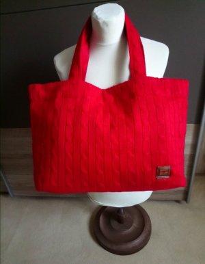 Tommy Hilfiger Canvas Bag red