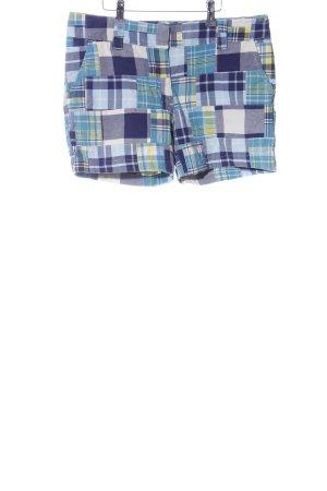 Tommy Hilfiger Shorts blau-blassgelb Allover-Druck Casual-Look